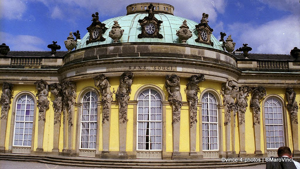 GERMANY, BERLIN - Sans Souci, where the Unification Treaty between the three powers was signed on August 31, 1990