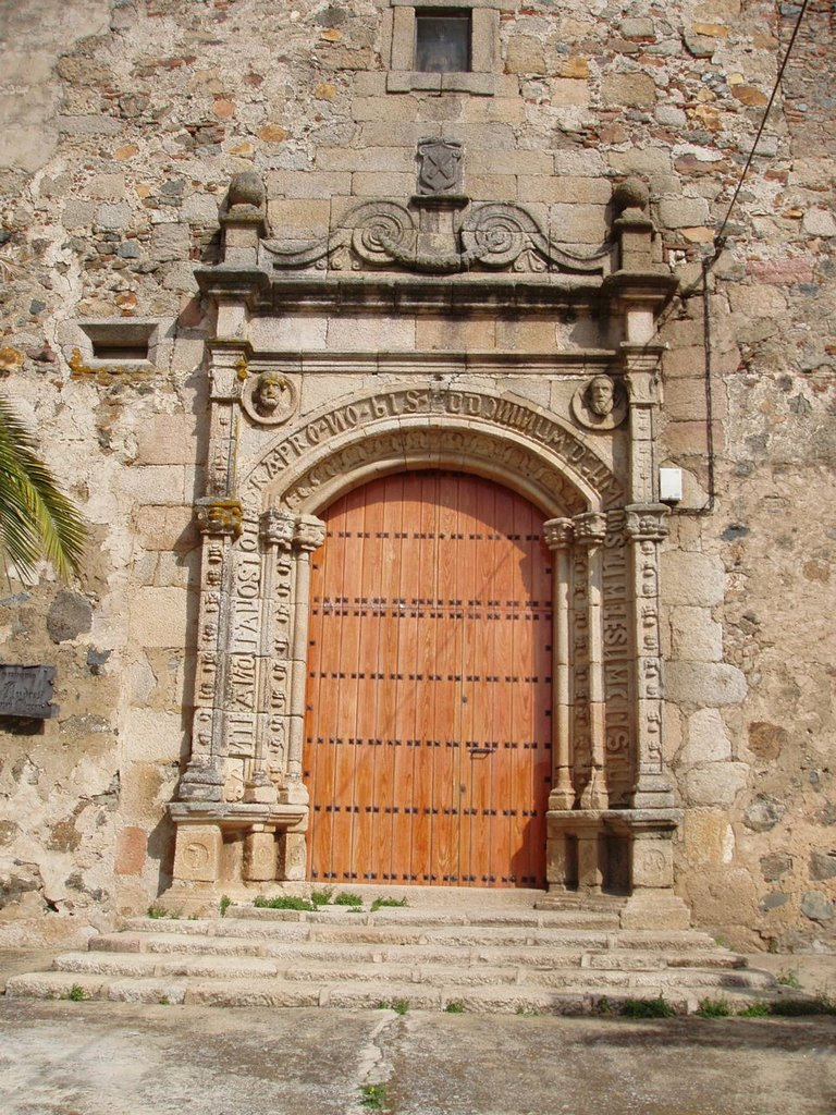 Church Door, Aljucen
