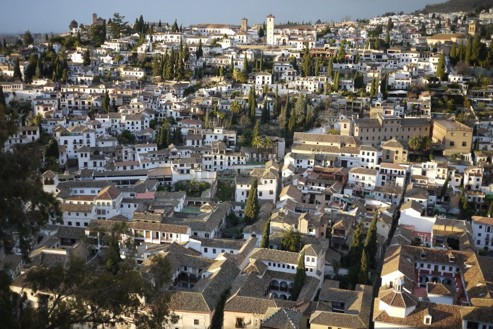 Albaicín seen from the Alhambra