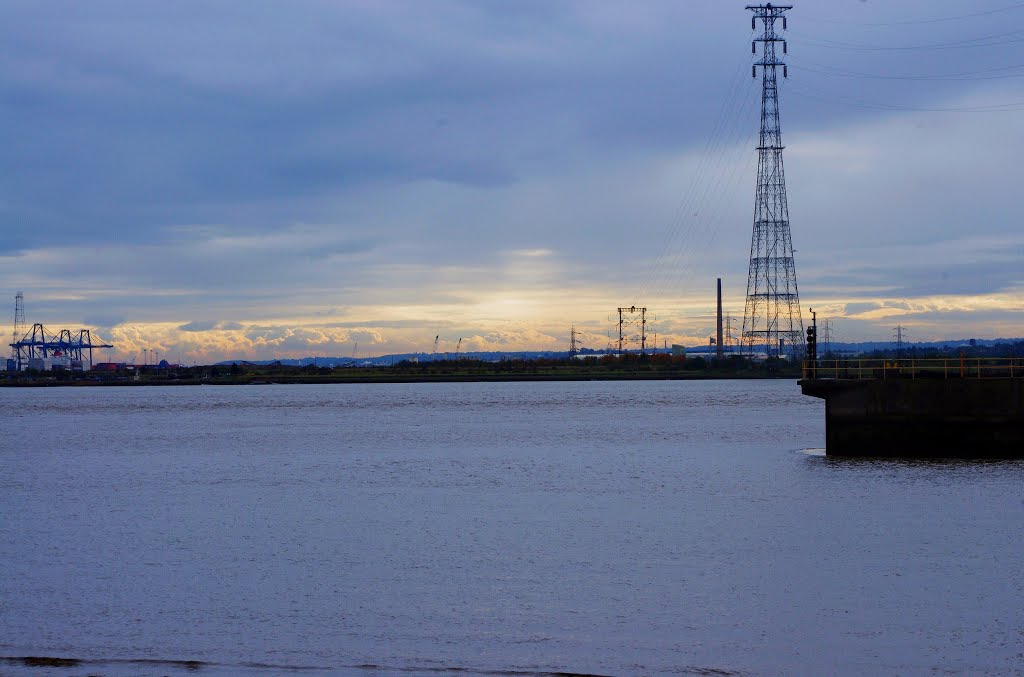 """""""swanscombe"""" north kent. river thames. oct 2012"""
