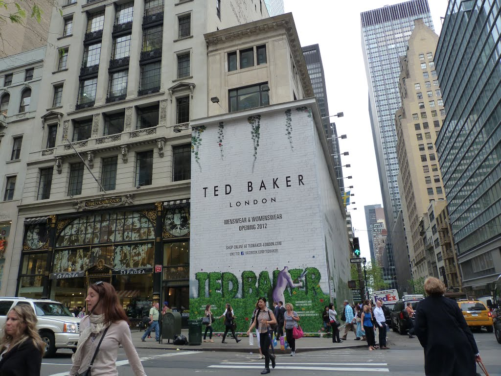 Ted Baker London in NYC.