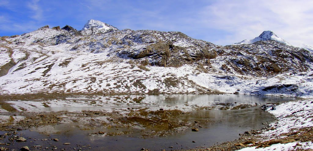lac des Roches Blanches 2865 m