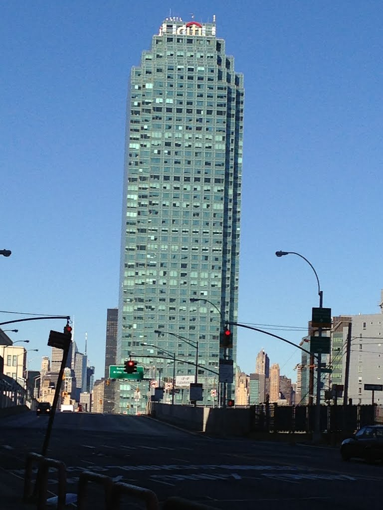 """""""CITI BANK BUILDING"""".Gorgeous & Beautiful Morning in Queens. New York. USA."""