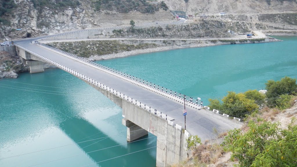Pul Doda Bridge across Chenab River