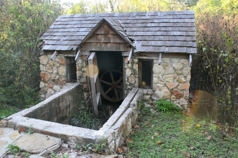 The Old Mill near the Grotto