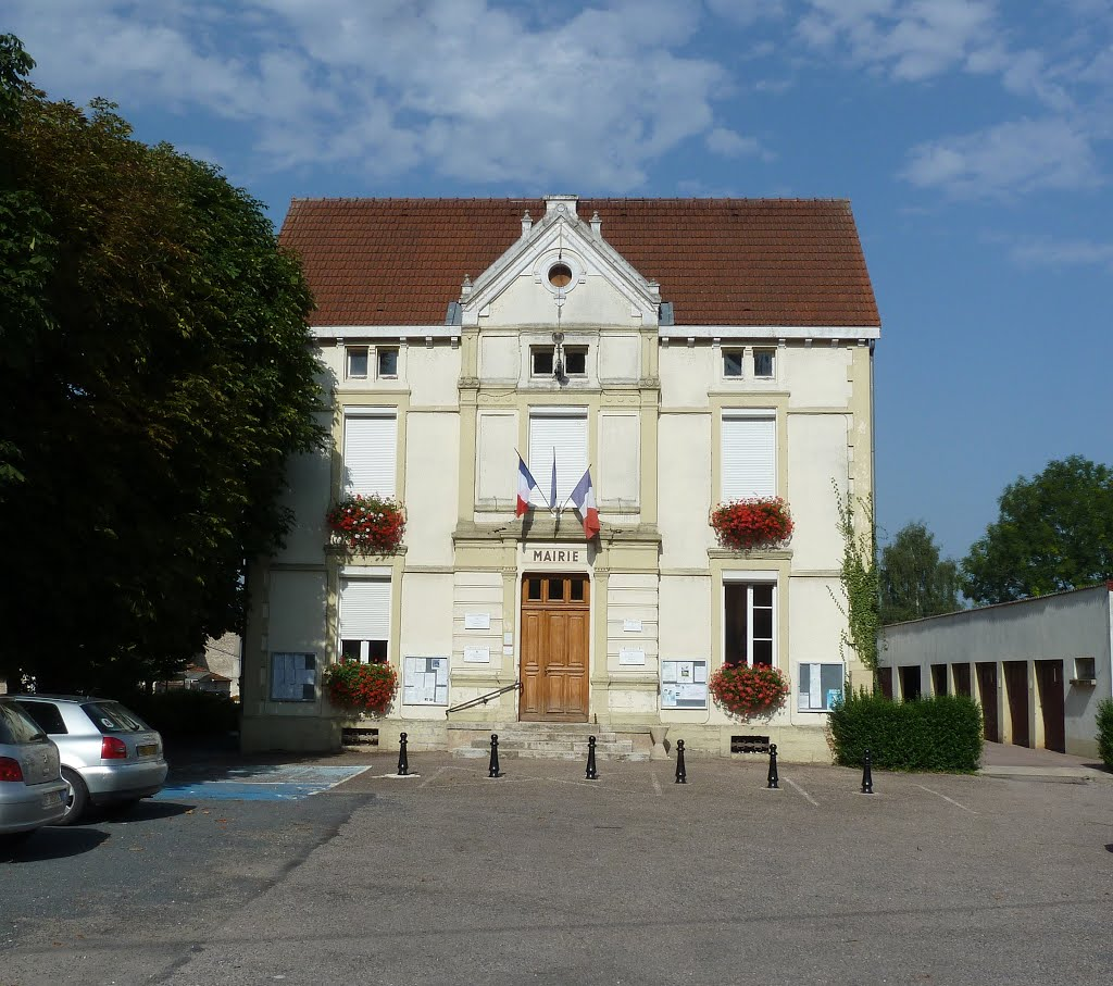 Mairie, Froncles, Haute-Marne