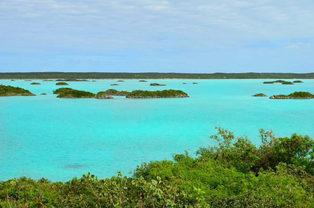 Turks and Caicos Islands.Chalk Sound National Park, Providenciales ...