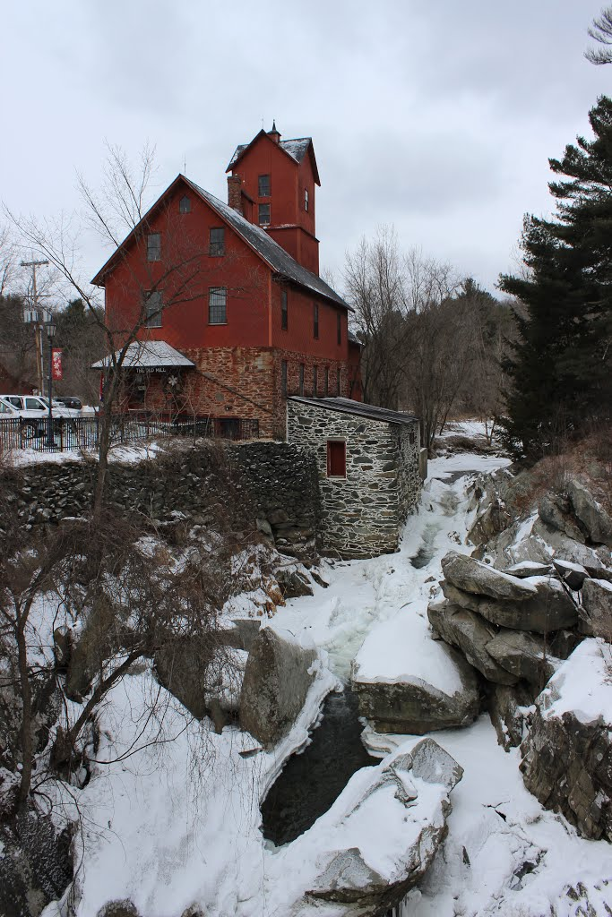 Chittenden Mills (The Old Red Mill)