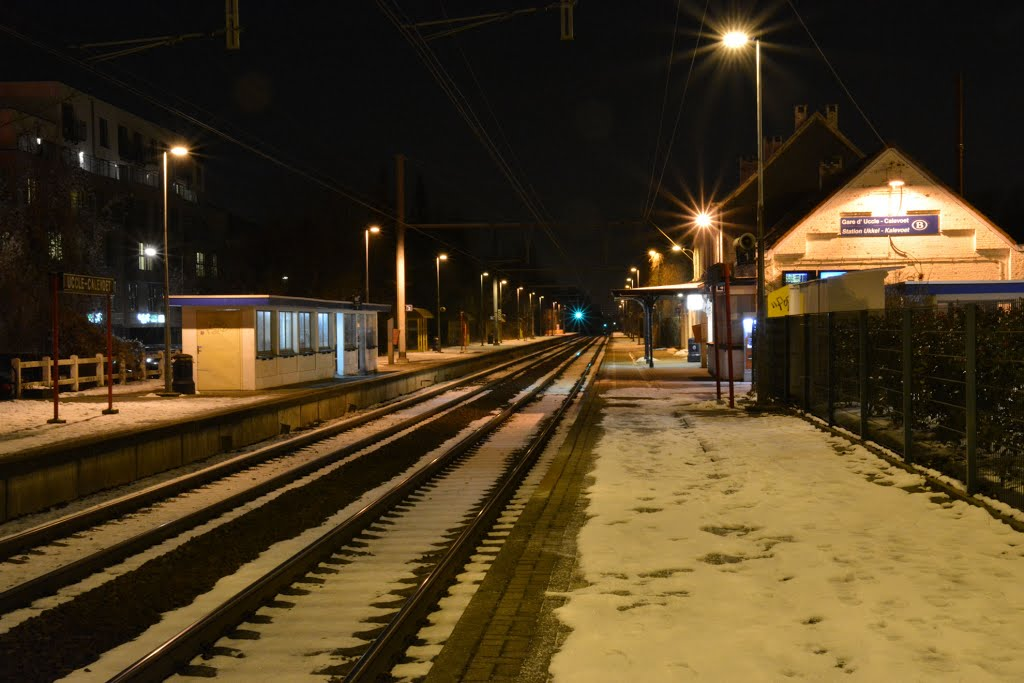 Gare d'Uccle Calevoet.
