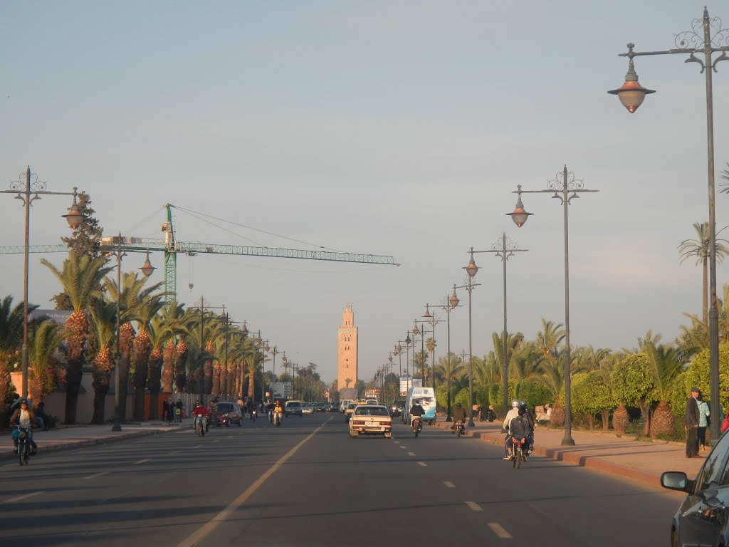 Avenue Prince Moulay Rachid..., Marrakech