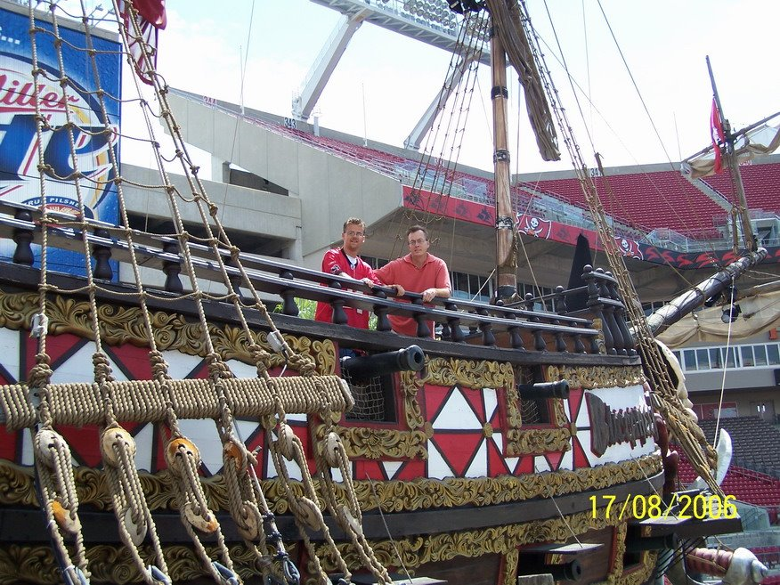 pirate ship raymond james stadium mapio net pirate ship raymond james stadium