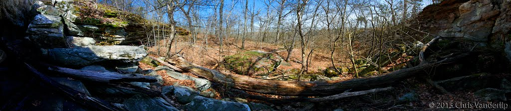 Panorama: Looking Out From Owl's Bluff