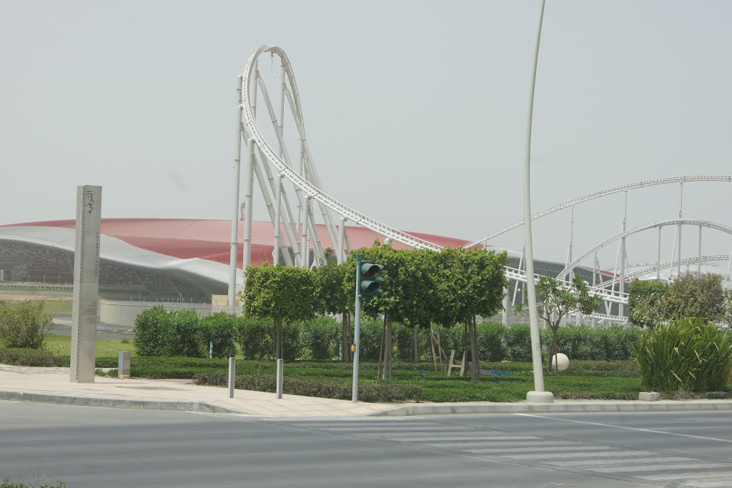 Abu Dhabi Ferrari World The World S Fastest Roller Coaster Mapio Net
