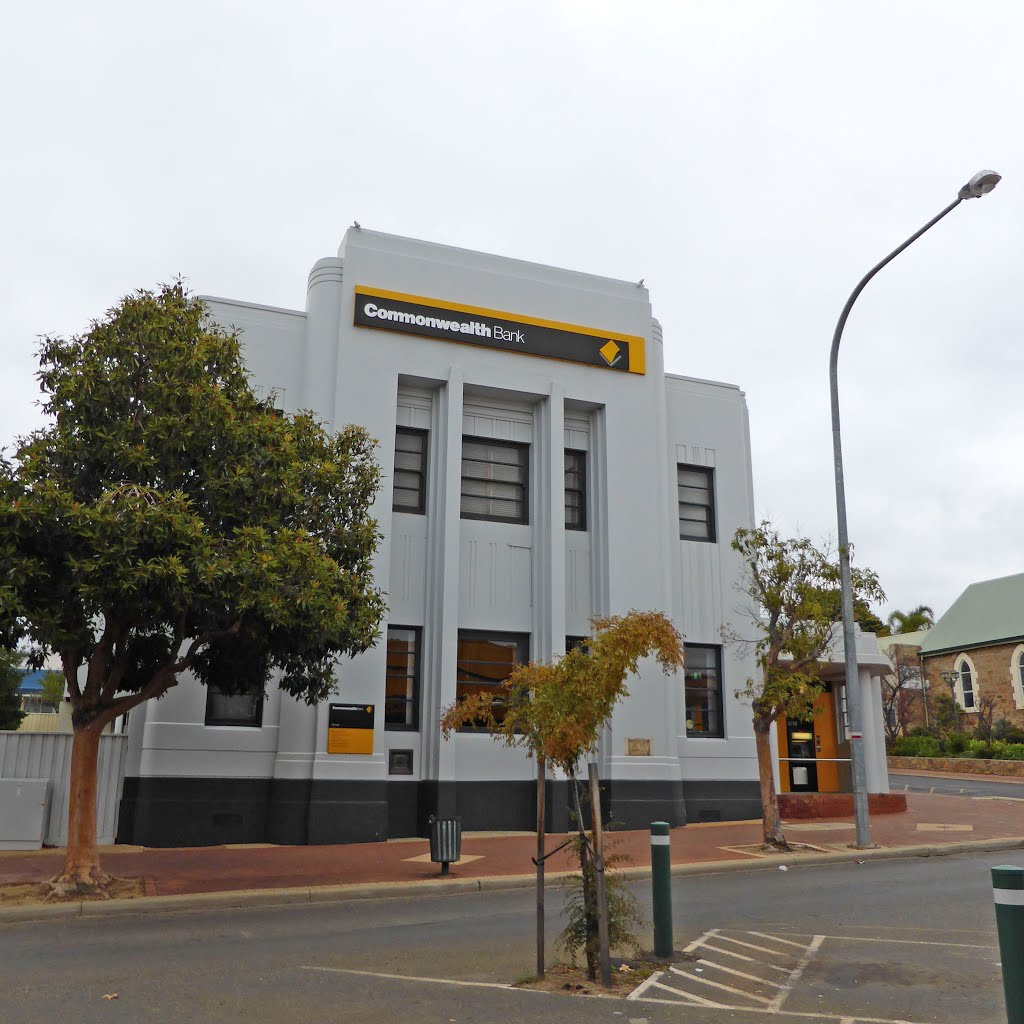 Art Deco Bank - c. 1940,  Fortune Street, Narrogin, WA