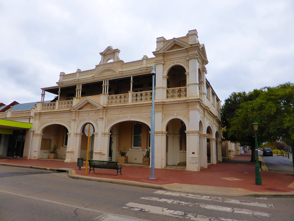 Town Hall - c. 1908, Federal Street, Narrogin, WA
