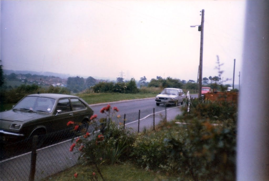View from Terrace Road, Elvington in 1988