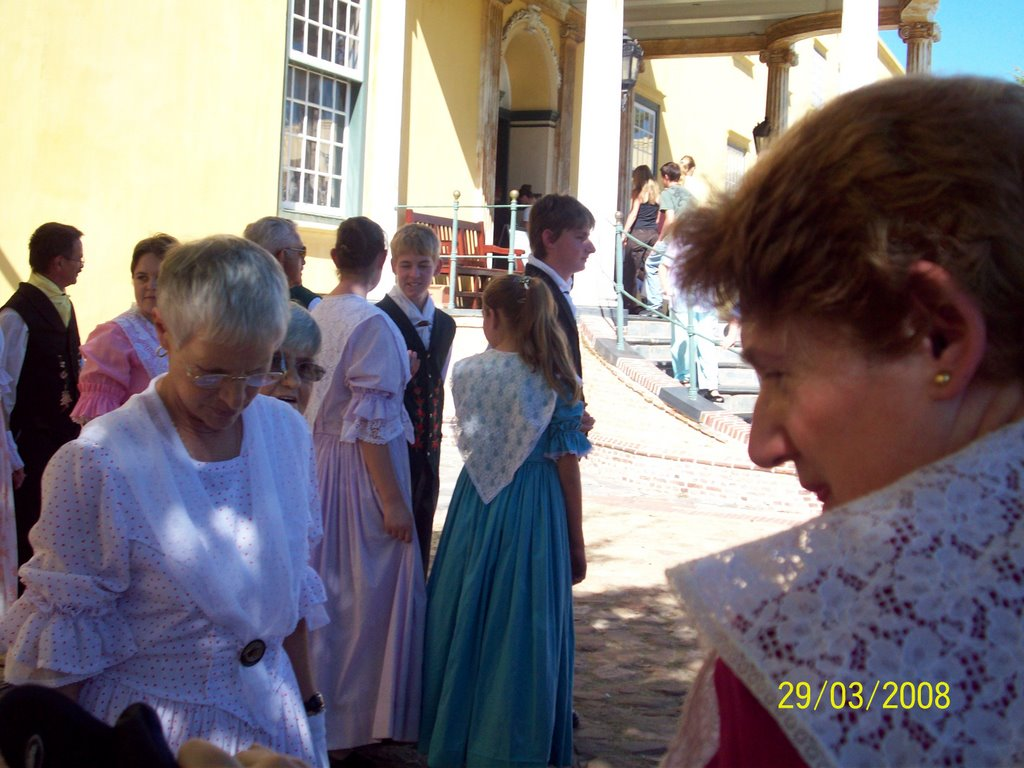 South African Folk Dancers at the Castle of Good Hope