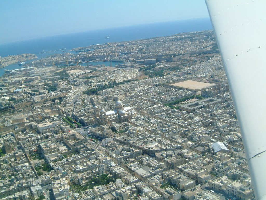 Rahal Gdid from the Air