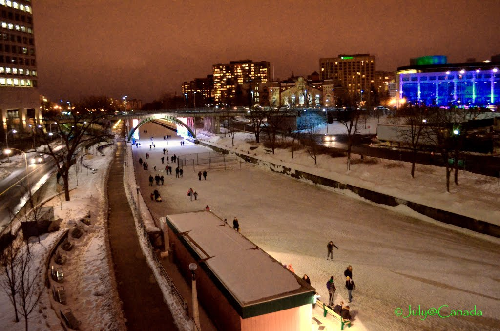 Skating Rink- Ottawa rivers and the Rideau Canal