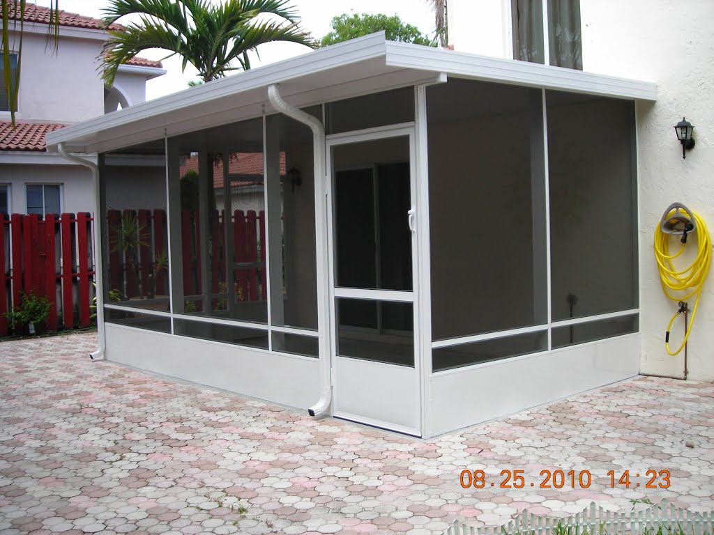 Screen Room Builders Miami Lakes Florida