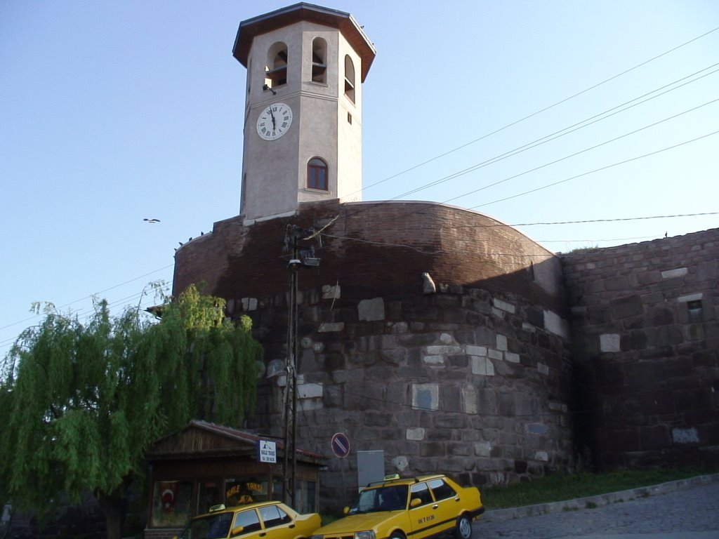 burg and clock tower