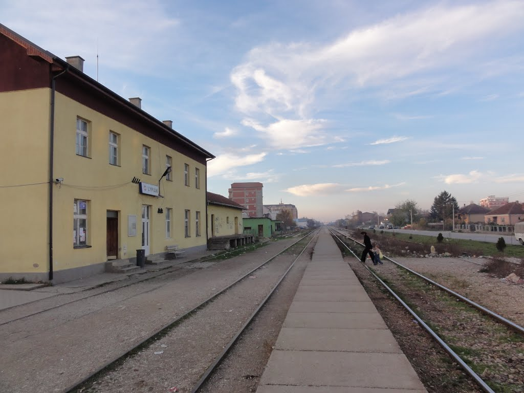 Lipjan/Lipljan Train Station, Kosovo